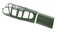 Canopy (Green) for BlitzRCWorks 8 CH Green Super P-40E Warhawk RC Warbird Airplane