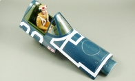 Canopy Set for BlitzRCWorks 9 CH F4U Corsair RC Warbird Airplane