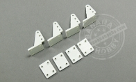 Clevis/Backplate for BlitzRCWorks 3 CH Mini Sukhoi PAK FA T-50 w/ Gyro RC EDF Jet