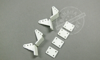 Clevis/ Backplate for BlitzRCWorks 3 CH Mini Messerschmitt Me-262 w/ Gyro RC EDF Jet
