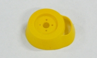 Cowl (Yellow) for BlitzRCWorks 4 CH Silver Nano P51-D Mustang RC Warbird Airplane