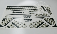 Decal for BlitzRCWorks 3 CH Mini Viper RC EDF Jet