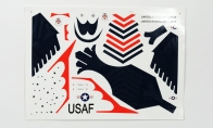 Decal for BlitzRCWorks 3 CH Mini F-16 V2 w/ Gyro RC EDF Jet