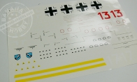 Decal Sheet for BlitzRCWorks 3 CH Mini Messerschmitt Me-262 w/ Gyro RC EDF Jet
