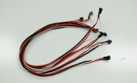 ESC to FCB Motor Wire Set for BlitzRCWorks 5 CH Coast Guard VTOL V-22 Osprey RC Warbird Airplane
