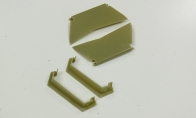 Front Landing Gear Cover for FMS 6 CH Green Giant A6M3 Zero RC Warbird Airplane