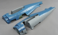 Fuselage for BlitzRCWorks 8 CH F4F Wildcat RC Warbird Airplane