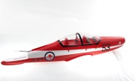 Fuselage Set for BlitzRCWorks 5 CH Pilatus PC-9 1200mm RC Warbird Airplane