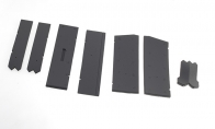 Gear Door set and foam parts for BlitzRCWorks 6 CH B-2 Spirit Stealth Bomber RC EDF Jet
