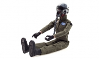 Global Aerojet 1:6 Green Highly Detailed Full Body Scaled Jet Pilot Figure for AF Model 12 CH Blue L-39 Albatros 105mm RC EDF Jet
