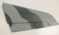Gray Right Main Wing for BlitzRCWorks 12 CH Grey Camo Super MiG-29 RC EDF Jet