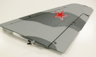 Gray Right Main Wing with 2 Servos with LED Light for BlitzRCWorks 12 CH Grey Camo Super MiG-29 RC EDF Jet