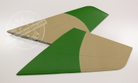 Green Camo Horizontal Stab for BlitzRCWorks 12 CH Green Camo Super MiG-29 RC EDF Jet