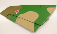 Green Camo Left Main Wing with 2 Servos with LED Light for BlitzRCWorks 12 CH Green Camo Super MiG-29 RC EDF Jet