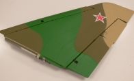 Green Camo Right Main Wing with 2 Servos with LED Light for BlitzRCWorks 12 CH Green Camo Super MiG-29 RC EDF Jet