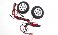 JP Hobby All-In-One Assembled Main Wheel Set (Diameter: 60mm Axle Shaft Size: 4mm) with JP Electric Braking System