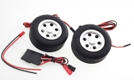 JP Hobby All-In-One Assembled Main Wheel Set (Diameter: 70mm Axle Shaft Size: 6mm) with JP Electric Braking System