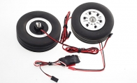 JP Hobby All-In-One Assembled Main Wheel Set (Diameter: 95mm Axle Shaft Size: 8mm) with JP Electric Braking System