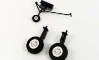 Landing Gear for BlitzRCWorks 4 CH Nano F4U Corsair RC Warbird Airplane