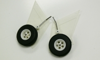 Landing Gear for FMS 5 CH Beechcraft Staggerwing RC Biplane Airplane