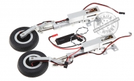 Left Landing Gear with Metal E-Retract for HSDJETS 6 CH Red Checker Super Viper 105mm RC EDF Jet