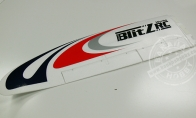 Left Wing with Applied Decals for BlitzRCWorks 5 CH Sky Surfer V5 RC Sailplane Glider