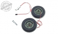 Main Wheel with brakes for BlitzRCWorks 8 CH Super B-25 Mitchell Bomber RC Warbird Airplane