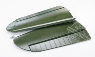 Main Wing (Green) for BlitzRCWorks 8 CH Green Super P-40E Warhawk RC Warbird Airplane