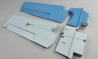 Main Wing Set for BlitzRCWorks 8 CH F4F Wildcat RC Warbird Airplane