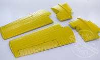Main Wing Set (Yellow) for BlitzRCWorks 8 CH F4F Wildcat RC Warbird Airplane