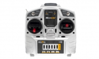 Microzone 6 Channel 2.4GHz MC-6C Radio Transmitter System Set for Taft Hobby 6 CH White Valkyrie 90mm RC EDF Jet