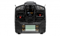 Microzone 8 Channel 2.4GHz MC-8B Programmable Radio Transmitter System Set for Air Epic 6 CH Red Diamond 90mm RC EDF Jet