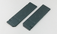 Painted Bomb Doors for BlitzRCWorks 6 CH F-117 Stealth Fighter V2 RC EDF Jet