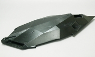 Painted Fuselage for BlitzRCWorks 4 CH F-117 Stealth Fighter RC EDF Jet