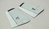 Painted Vertical Stab for BlitzRCWorks 8 CH Super A-10 Warthog Thunderbolt II RC EDF Jet