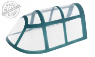 Plastic Canopy for BlitzRCWorks 8 CH F4F Wildcat RC Warbird Airplane