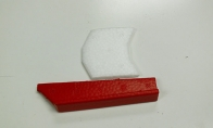 Plastic Parts for BlitzRCWorks 6 CH Red Giant Grob G 120TP 1700mm RC Trainer Airplane