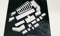 Plastic Parts Set for HSD 4 CH Silver Viper 75mm RC EDF Jet