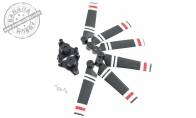 Propeller Set (Qty: 6/Set) for BlitzRCWorks 5 CH Snow Camo VTOL V-22 Osprey RC Warbird Airplane
