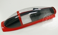 Red Canopy Set for BlitzRCWorks 12 CH Red Super MiG-29 RC EDF Jet
