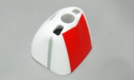 Red Cowl for BlitzRCWorks 5 CH Red Sky Trainer G-Kemy w/ Flaps 1400mm RC Trainer Airplane