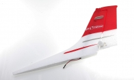 Red Vertical Fin for Air Epic 5 CH Red Sky Trainer G-Kemy w/ Flaps 1400mm RC Trainer Airplane