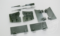 Retract Gear Door Set for BlitzRCWorks 9 CH F4U Corsair RC Warbird Airplane