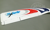 Right Wing with Applied Decals for BlitzRCWorks 5 CH Sky Surfer V5 RC Sailplane Glider