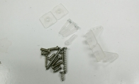 Screws and Control Horns for HSDJETS 6 CH Silver Viper Pro 90mm RC EDF Jet