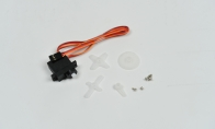 Servo- One 9 Gram Servo (Positive), L=550mm for BlitzRCWorks 5 CH Sky Surfer V5 RC Sailplane Glider
