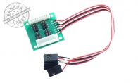 Servo Relay Control Board for BlitzRCWorks 6 CH Red Giant Grob G 120TP 1700mm RC Trainer Airplane