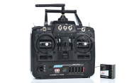 Sky Flight Hobby 12 Channel 2.4GHz Radio System Set w/ Thrust Vectoring (Transmitter + Receiver)