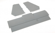 Tactic Gray Tail Wing for BlitzRCWorks 5 CH Tactic Gray VTOL V-22 Osprey RC Warbird Airplane
