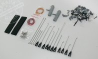 Twin 70mm Mig-29 Accessories Pack for BlitzRCWorks 12 CH Green Camo Super MiG-29 RC EDF Jet